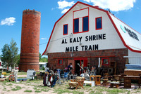 Mule Train Garage Sale- July, 2010