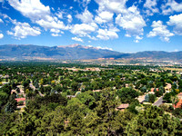 Colorado Springs from Palmer Park Overlook.