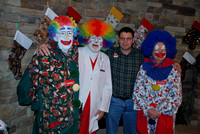 Clowns of Al Kaly at USO Christmas Party - 2011